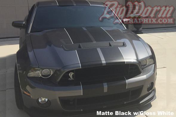 2010-14 GT500 Dual Full Length Stripes