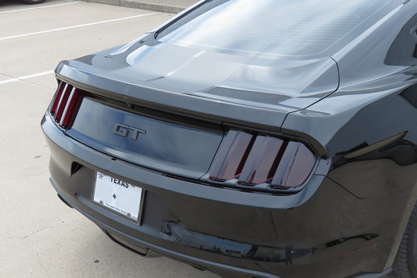 2015-17 Mustang Smoked Tail Light Overlays Only