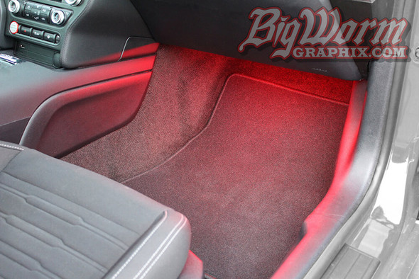 2015-20 Mustang LED Footwell Lighting