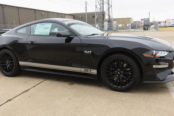 2015-20 Mustang Offset Rocker Stripes