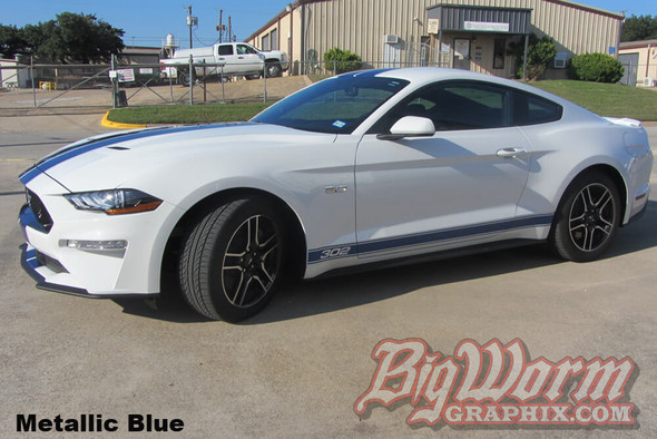2015-20 Mustang Pinstripe Rocker Stripes