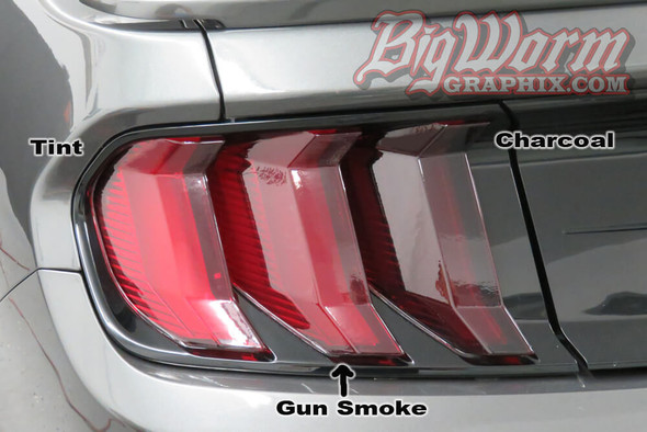 2018-20 Mustang Smoked Lens Combination Kit
