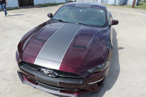 2018-21 Mustang Center Full Length Stripe