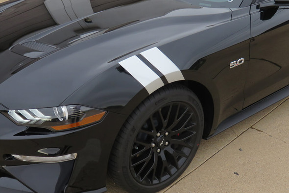 2018-21 Mustang Hash Mark Stripes