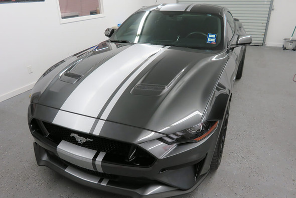 2018-21 Mustang Offset Full Length Stripes