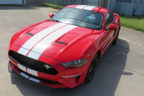 2018-21 Mustang Pinstripe Dual Full Length Stripes