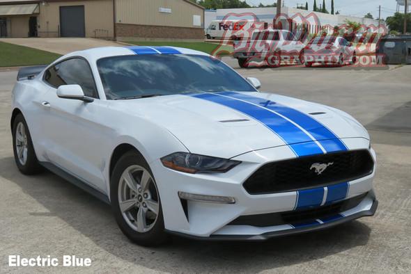 2018-20 Mustang Pinstripe Dual Full Length Stripes