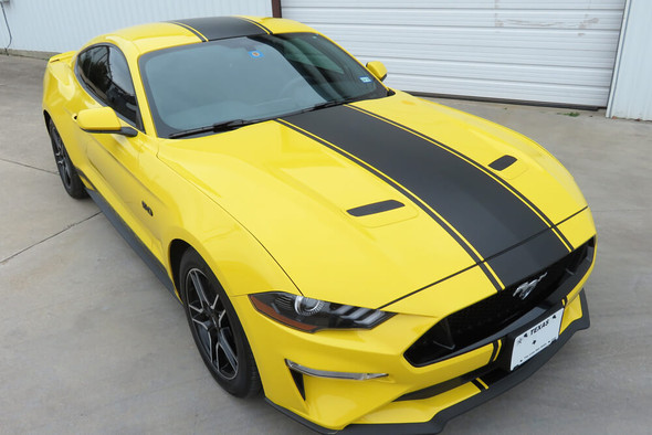 2018-21 Mustang Supersnake Style Full Length Stripes