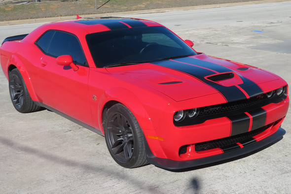 2019-21 Challenger Scat Pack Dual Full Length Stripes