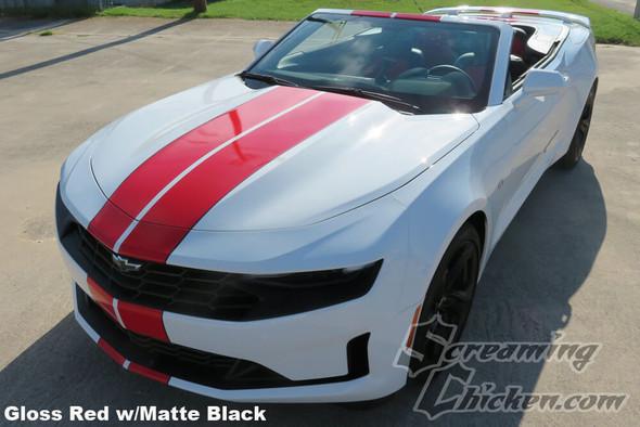 2019-21 Camaro Dual Full Length Stripes