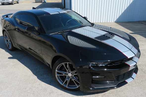 2019-21 Camaro Dual Full Length Stripes