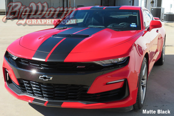 2019-20 Camaro Dual Full Length Stripes
