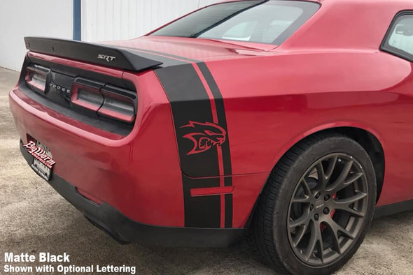 2015-21 Challenger Hellcat Tail Stripe