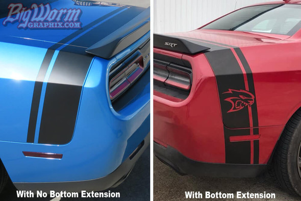 2015-20 Challenger Hellcat Tail Stripe
