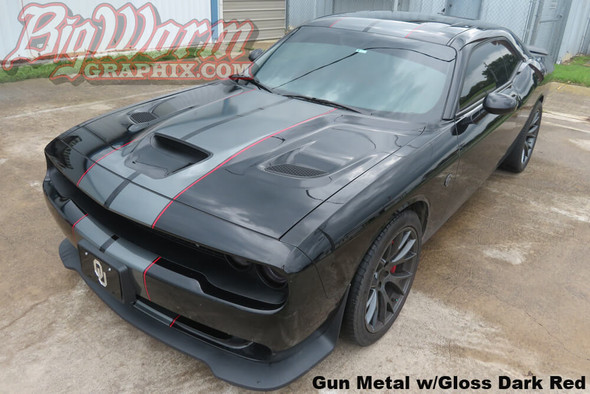 2015-18 Challenger Hellcat Dual Full Length Stripes