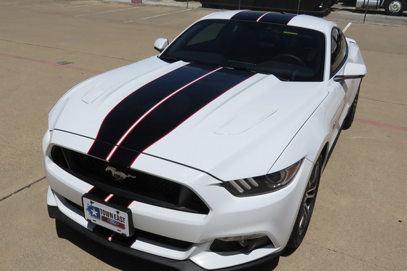 2015-17 Mustang 6G Full Length Stripes