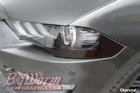 2018-21 Mustang Front Reflector Overlays