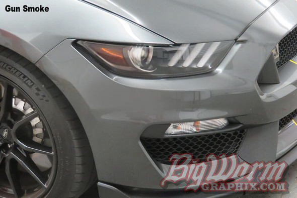 2015-20 GT350 Front Reflector Overlays