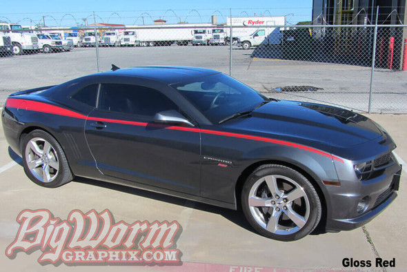 2010-15 Camaro Legacy Side Stripes