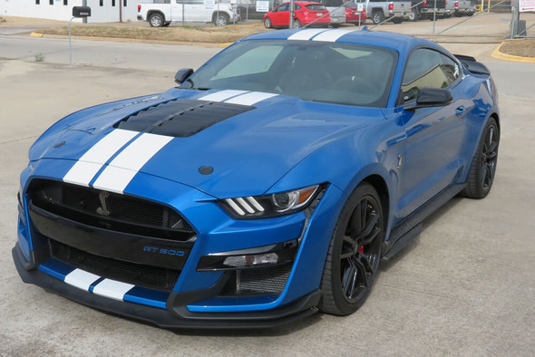 2020-21 GT500 Mustang Dual Full Length Stripes