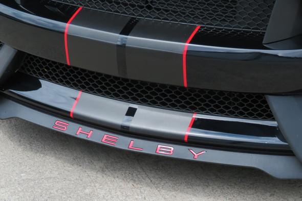"2015-20 GT350/GT350R ""SHELBY"" Splitter Inlay"