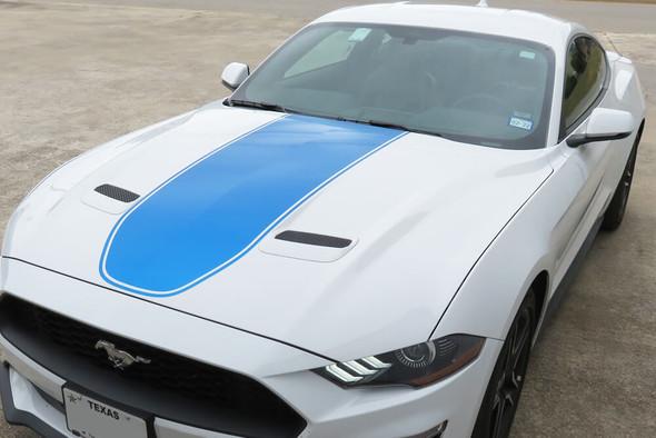 2018-21 Mustang Mach Style Hood Stripe