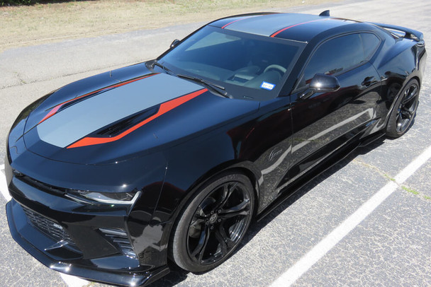 2016-18 Camaro 50th Style Stripes