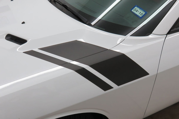 2008-14 Challenger Scat Pack Style Hash Mark Stripes
