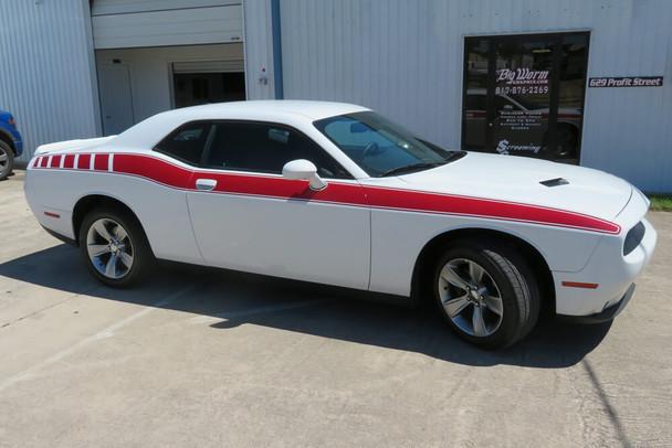 2008-21 Challenger Full Length Retro Side Stripes