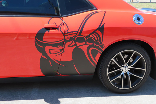 2008-21 Challenger Super Bee Side Graphic