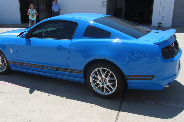 2005-14 Mustang Extended Dual Line Rocker Panel Stripes