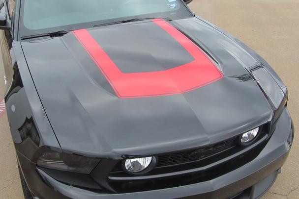 2010-12 Mustang Horseshoe Hood Stripe