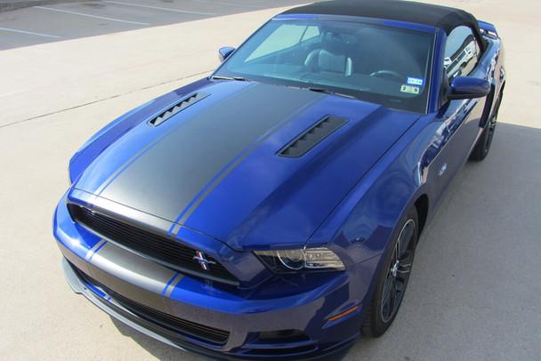 2010-14 Mustang Supersnake Style Full Length Stripes