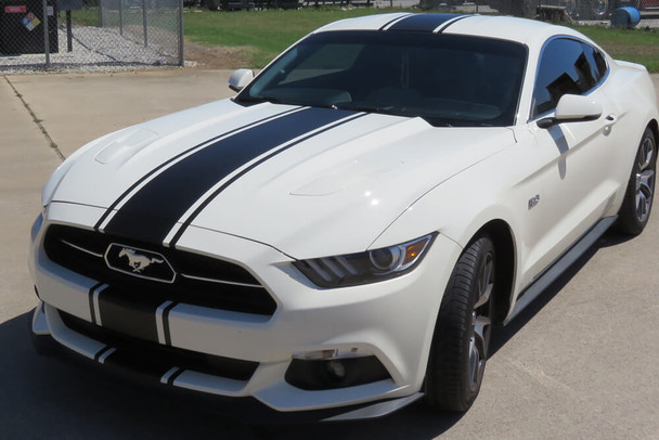 2015-17 Mustang Skinny Snake Stripes