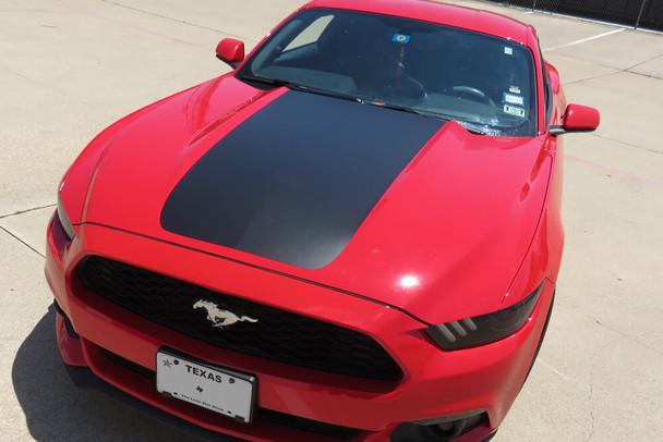 2015-17 Mustang XL Cowl Hood Stripe