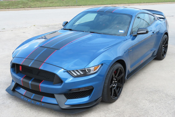 2015-20 GT350 Mustang Dual Full Length Stripes