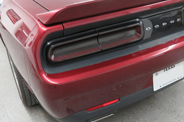 2015-21 Challenger Smoked Tail Light Wrap
