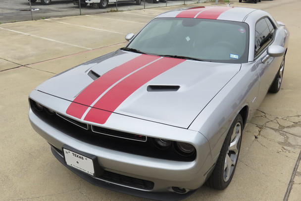 2008-18 Challenger Dual Mohawk Stripe