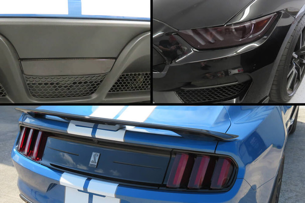 2015-20 GT350 Smoked Lens Combination Kit
