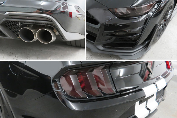 2020-21 GT500 Smoked Lens Combination Kit