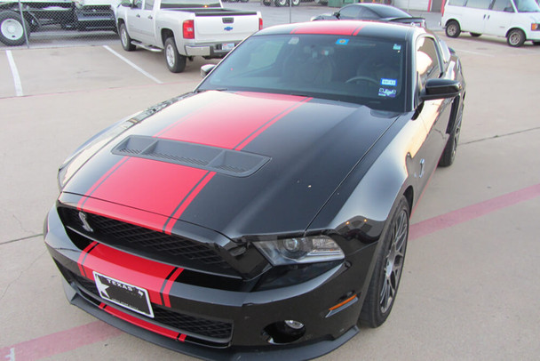 2010-14 GT500 Supersnake style Stripes