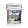 Front five gallon bucket label of Safe-T-Deck® Smooth Formula Floor Paint