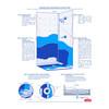 Shower application diagram of Blue Max® Waterproofing & Crack Prevention Tile & Floor Membrane