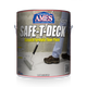 Front one gallon pail label of Safe-T-Deck® Smooth Formula Floor Paint
