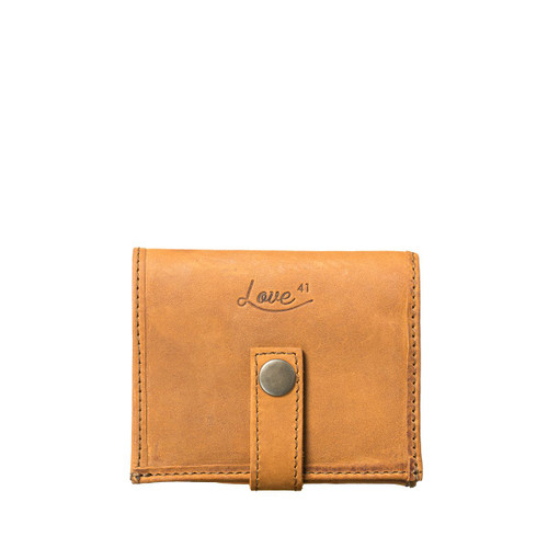 Suzette's Steals Tobacco Bifold Leather Wallet-New Design