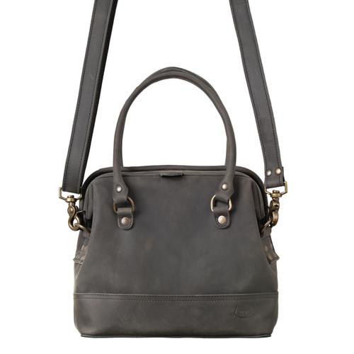 Small Gladstone Leather Satchel