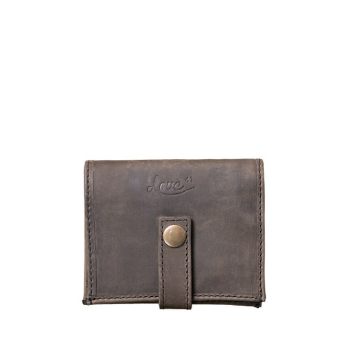 Suzette's Steals Chestnut Bifold Leather-New Design-Black