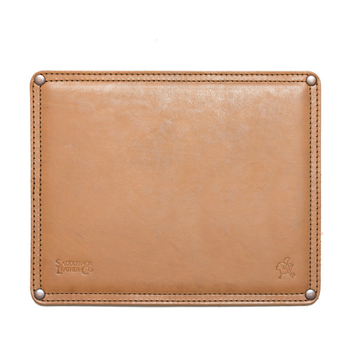 Normal Leather Mouse Pad - Veg Tan Leather