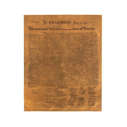Leather Declaration Of Independence