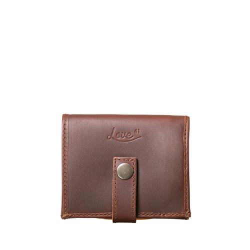 Suzette's Steals Bifold Leather-Chestnut